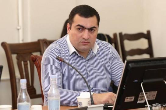 Սերգեյ Ատոմյանն ազատվել է Արարատի մարզպետի տեղակալի պաշտոնից և նշանակվել քրեակատարողական ծառայության պետ
