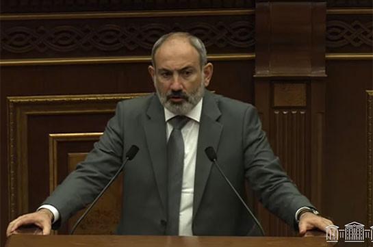 Мы говорим с этой трибуны Санасар, а ведем переговоры вокруг «Багдасара» – Никол Пашинян