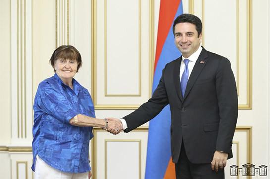 При действенной поддержке международного сообщества удастся решить вопрос репатриации пленных: Ален Симонян принял баронессу Кэролайн Кокс