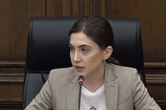 Пашинян обеспечивает для азербайджанцев основание, чтобы Баку не предстать перед миром как оккупировавший суверенную территорию Армении агрессор – Анна Мкртчян