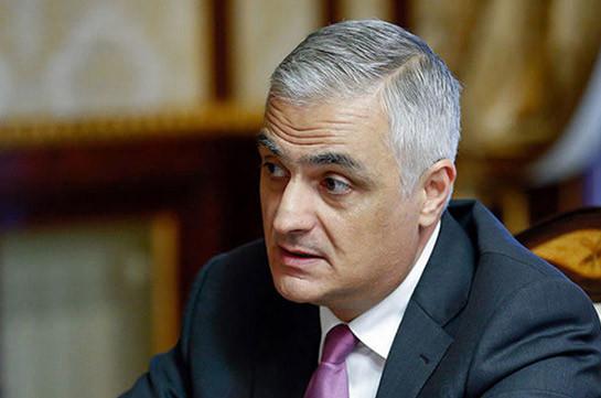Надо начать процесс делимитации и демаркации границы между Арменией и Азербайджаном – Мгер Григорян