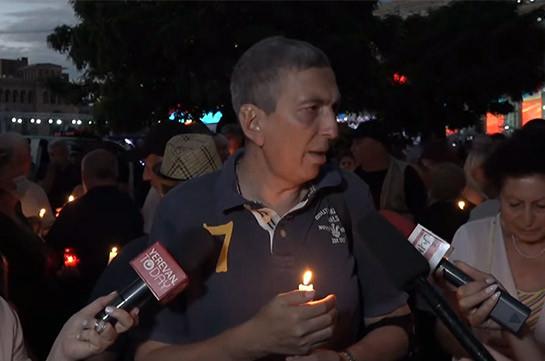 Родственники погибших военнослужащих сегодня в полночь проведут шествие к военному пантеону «Ераблур»