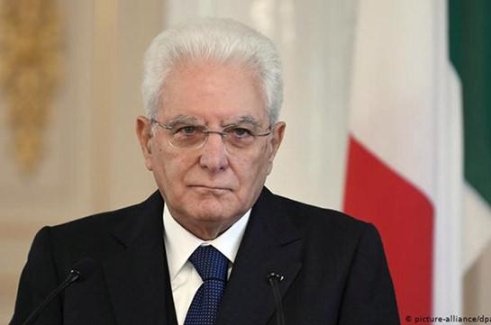 Италия с уверенностью смотрит в будущее отношений с Арменией – президент Италии поздравил Армена Саркисяна