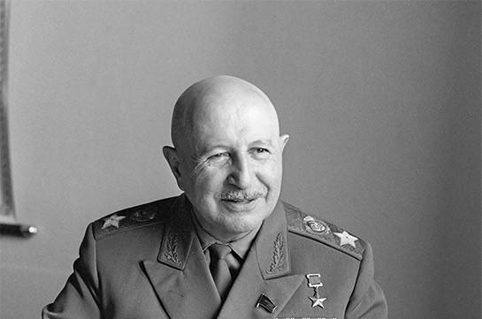 В Москве состоялось открытие памятника маршалу Баграмяну