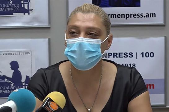 Ситуация с коронавирусом в Армении оценивается как напряженная – Ромелла Абовян