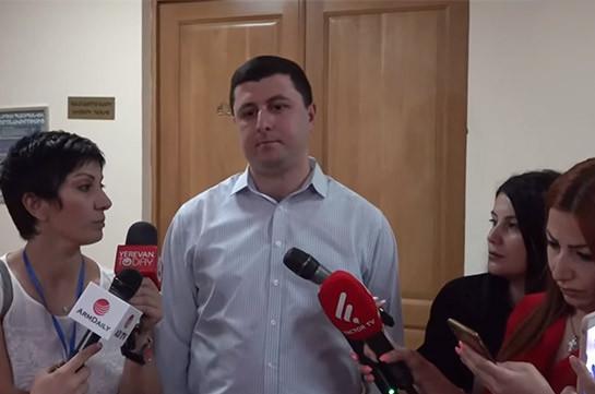 Власти намеренно срывают работу комиссии по вопросам обороны и безопасности – Тигран Абрамян