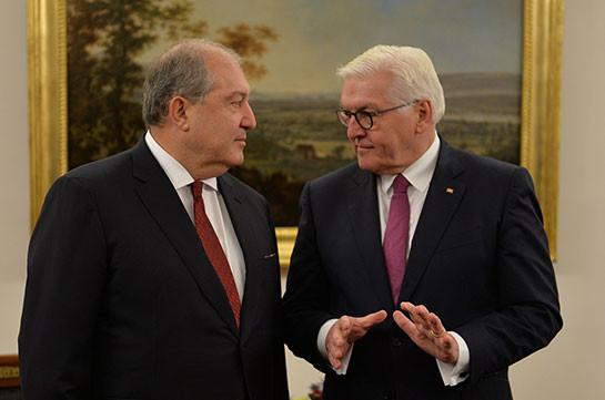 Բազմաթիվ են մարտահրավերները, որոնց առջև կանգնած է Հայաստանը 2020 թվականի նոյեմբերին ստորագրված զինադադարից հետո. Գերմանիայի նախագահ