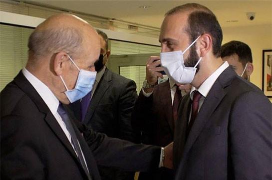 Главы МИД Армении и Франции обсудили перспективы урегулирования нагорно-карабахского конфликта