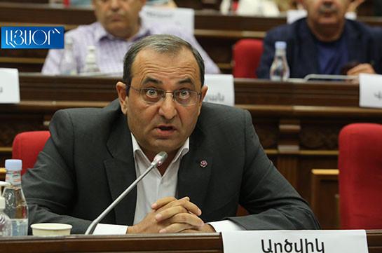 Как флирт с Эрдоганом, так и заявления Алиева свидетельствуют о том, что мы имеем дело с проблемами безопасности – Арцвик Минасян