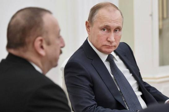 «Мне не нужны были дополнительные моменты, связанные с унижением Пашиняна». Алиев рассказал о просьбе Путина