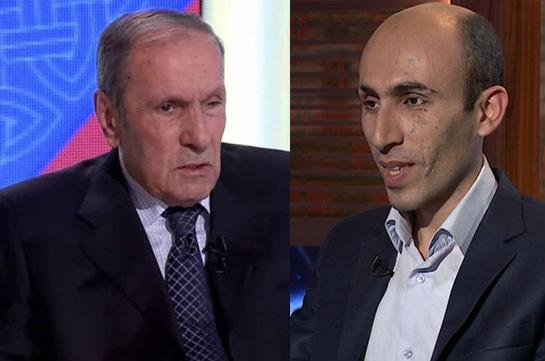 Լևոն Տեր-Պետրոսյանն առանձնազրույց է ունեցել  Արտակ Բեգլարյանի հետ. շոշափվել են բացառապես հումանիտար խնդիրներին վերաբերող հարցեր