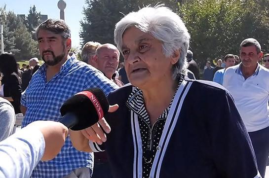 Мать погибшего героя: Если бы не было Пашиняна, Арцах не был бы продан. Что еще мы должны потерять, чтобы не бояться говорить?