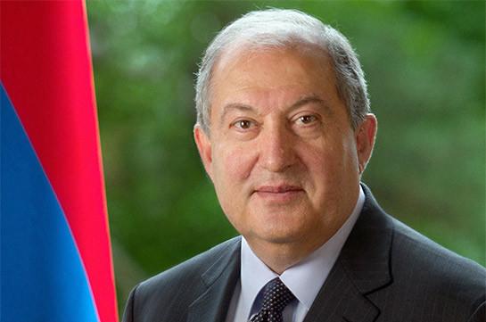 Նախագահ Արմեն Սարգսյանը Թուրքմենստանի ազգային տոնի առթիվ շնորհավորական ուղերձ է հղել Գուրբանգուլի Բերդիմուհամեդովին