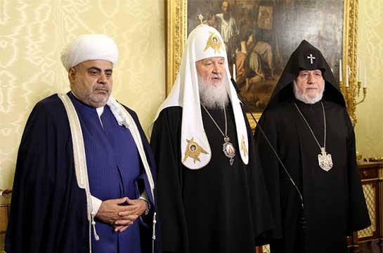 Религиозные лидеры Азербайджана, Армении и РФ проведут встречу в Москве