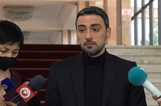 Прокуратура должна заняться заявлением Пашиняна, оно находится в рамках уголовно-правового поля – Арам Вардеванян