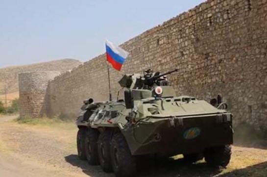Российские миротворцы обеспечили безопасное сопровождение автомобильных колонн в Нагорном Карабахе
