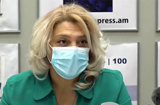 Армения приближается к «красной зоне»: больницы работают в перегруженном режиме, коечный фонд исчерпан