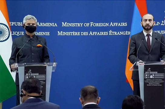 Дальнейшее расширение отношений с Индией является одним из приоритетов правительства Армении – Арарат Мирзоян