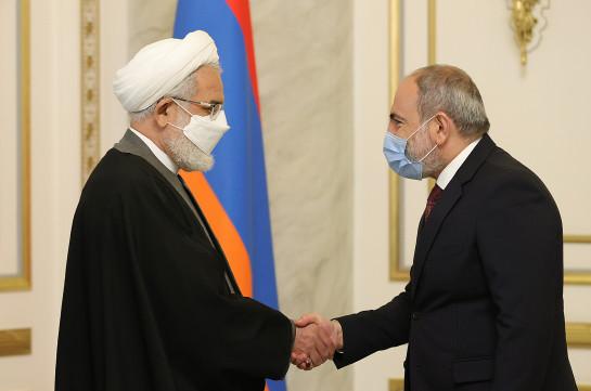 Иран не позволит размещения вдоль своих границ провоцирующих войну сил – Никол Пашинян принял генпрокурора Ирана