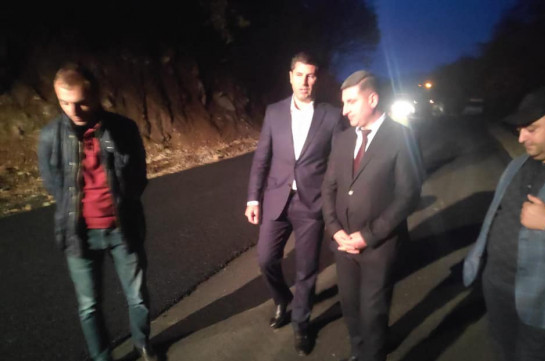 Альтернативная дорога Татев-Агван будет готова к концу года