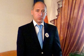 Андраник Никогосян получил высокую награду от Патриарха Кирилла