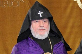 Karekin II to raise Georgian-Armenian Diocese problems