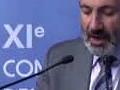 Nikol Pashinyan speaks French