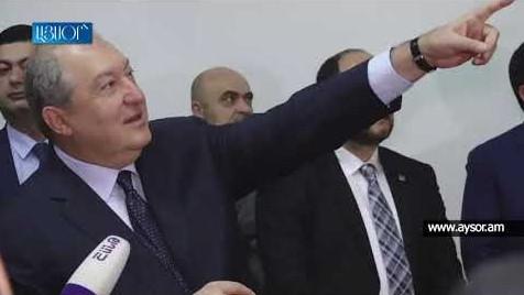 В университете Брюсова в Ереване открылся класс имени Георгия и Гоар Варданянов