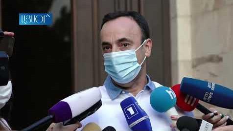 Ոչինչ չեմ ասել, հիմա էլ չեմ ասում. Թովմասյանը՝ ՍԴ նախագահի թեկնածու ինքնաառաջադրման մասին