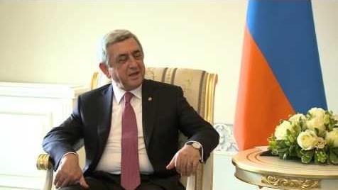 Встреча президентов Армении и России в Санкт-Петербурге