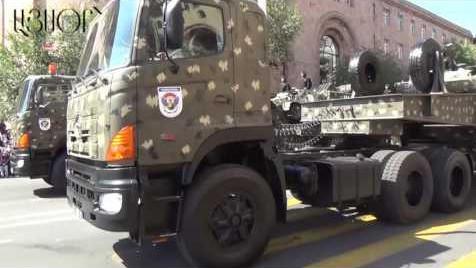 Военный парад, приуроченный 25-летию Независимости Армении